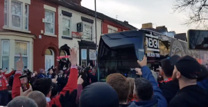 幸福!利物浦球迷现场看球全程记录