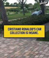 你都认识吗?看看C罗都收藏了哪些车