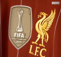 视频特写!利物浦官方晒世俱杯冠军球衣