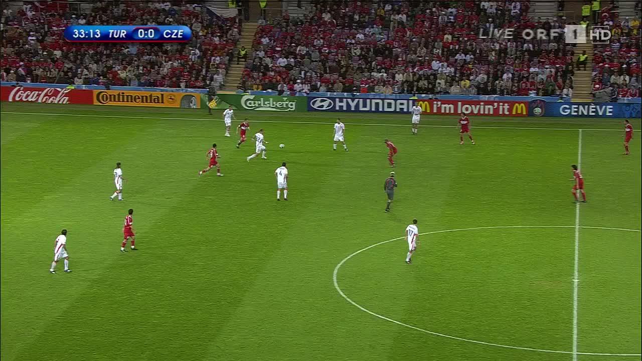 红牌+绝杀+逆转!08欧洲杯土耳其vs捷克
