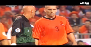 铁血硬汉!2000年欧洲杯斯塔姆现场缝针面不改色