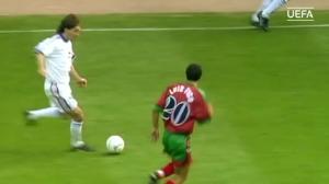 一球成名!96年欧洲杯波博斯基吊射葡萄牙