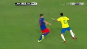 用进球回应对手!网友剪辑内马尔vs哥伦比亚被侵犯&进球片段