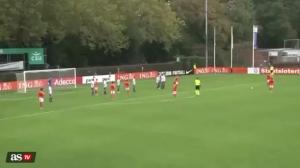 未来是你的!哈维-西蒙斯代表荷兰U17破门
