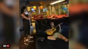 小提琴+吉他!拉莫斯夫妇合作演奏
