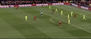 夏奇拉看巴萨被利物浦逆转的反应