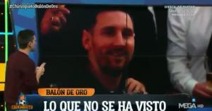 西班牙节目嘉宾分析梅西格子面部表情