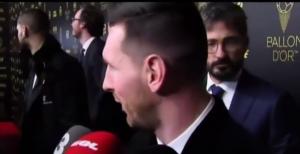 梅西怒怼西班牙记者:等我说完好吗?
