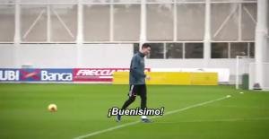 C罗迪巴拉与伊瓜因训练赛练习射门