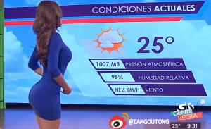 还记得墨西哥那位翘臀女主播吗?小姐姐教你如何练出好身材