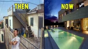 球星们成名前的房子和现在的对比