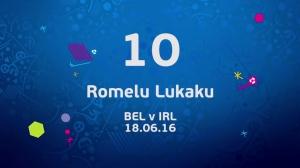 16年欧洲杯官方十佳球,C罗两球入选,沙奇里倒钩第一!