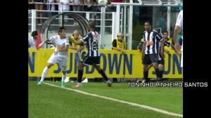 内马尔在巴西是怎么踢球的?