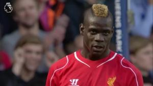 巴洛特利在利物浦生涯一次空门不进...