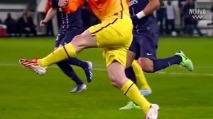 天才中的天才!看看梅西的触球球感有多强