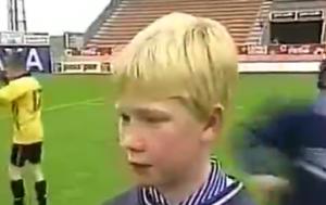 德布劳内小时候:最喜欢利物浦和迈克尔·欧文