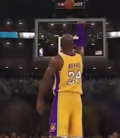科比历年NBA2K中的形象变化