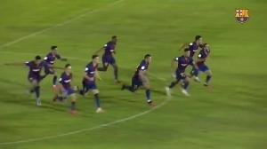 巴萨B队点球淘汰巴达霍斯 进升级附加赛决赛