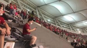 记者叹球迷首次入场观战:憋了几个月的劲儿都喊出来了