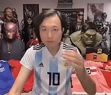 王涛此前打赌梅西会离队 若输将送梅西签名战靴