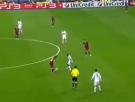 被评为梅西最独特瞬间 梅西伯纳乌单挑皇马防线进球