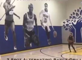 库里最新投篮训练视频 简直就像个没有感情的投篮机器