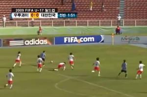 17岁孙兴慜贡献传射!2009年U-17韩国3-1乌拉圭全场高光集锦
