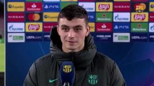 巴萨小将佩德里谈欧冠首秀进球:儿时的梦想,不敢相信是真的