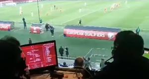 马其顿首次杀入欧洲杯!赛后解说员陷入疯狂