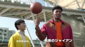 日本拍摄《哆啦A梦》真人版广告 奇才球员八村塁饰演胖虎