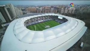 高空俯瞰莱万特主场,瓦伦西亚市立球场