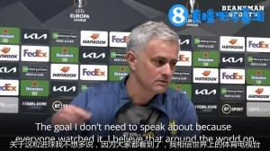 穆里尼奥谈阿里倒钩进球:这不用多说,因为大家有目共睹