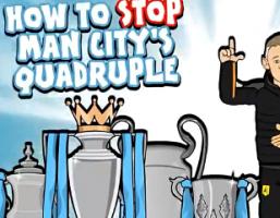 英超众帅大联盟!恶搞如何阻止曼城夺得四冠王?