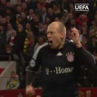 11年前的今天:罗本世界波助拜仁淘汰曼联!
