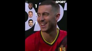 谁是欧洲杯上比利时最佳?阿扎尔:只要我上场那就是我
