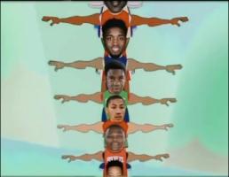 NBA球员臂展差距有多明显?巴里亚1米79波尔波尔2米59!