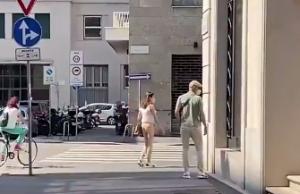 走在时尚前沿!齐达内米兰街头散步