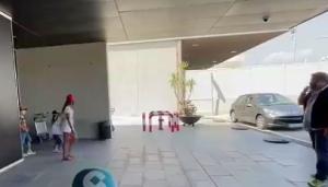 备战新赛季!梅西抵达巴塞罗那