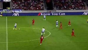 惊艳!柏林赫塔球员精彩零角度攻破利物浦大门