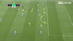 英超-格拉利什首球热苏斯两助攻+造乌龙 曼城5-0诺维奇