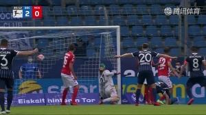 德甲-霍尔特曼惊艳一条龙破门 波鸿2-0美因茨