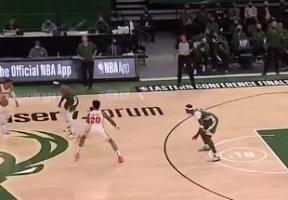 NBA各队上赛季最佳控球表现:特雷杨抖肩三分 欧文犀利变向