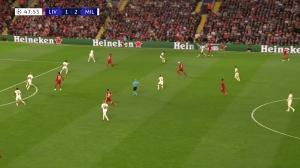 奥里吉送助攻萨拉赫破门 利物浦2-2扳平比分