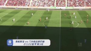 德甲-尼德莱赫纳推射破门 奥格斯堡1-0小胜门兴