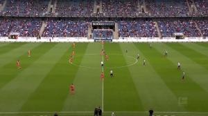 德甲-哈克射门中柱 比勒菲尔德0-0霍芬海姆