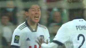 黄义助法甲上演梅开二度 助波尔多2-1胜圣埃蒂安
